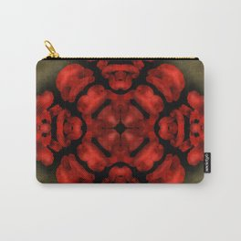 Abstract poppy background Carry-All Pouch