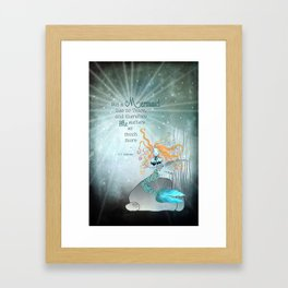 THE LITTLE MERMAID Framed Art Print