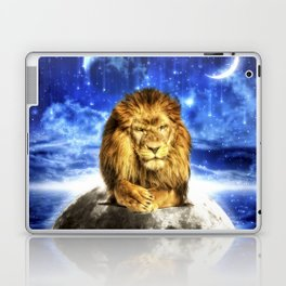 Grumpy Lion Laptop & iPad Skin