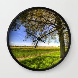 The Daffodil Summer Farm Wall Clock