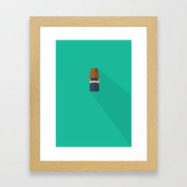 Mr. Sneaky Framed Art Print