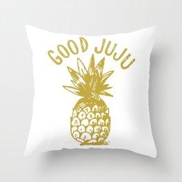 GOOD JUJU Throw Pillow