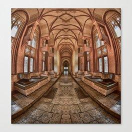 Inside the Polish Castle Canvas Print