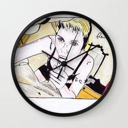 loira boqueteira Wall Clock