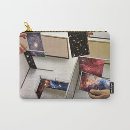 Putting the Universe in place Carry-All Pouch