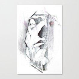 Futuristic Cyborg 6 Canvas Print