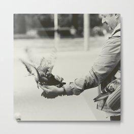 Caring Hand Metal Print