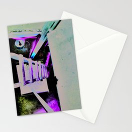 ladder going up or down Stationery Cards