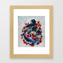 Sky, Land, Sea Framed Art Print