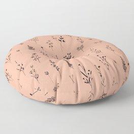 Summer Wildflowers Floor Pillow