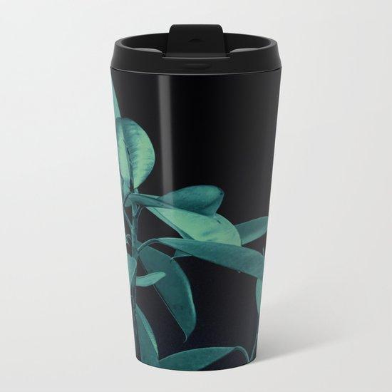 Rubber plant Metal Travel Mug