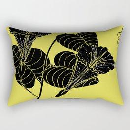 Bush Potato (Also known as Desert Yam) - Ipomoea costata Rectangular Pillow