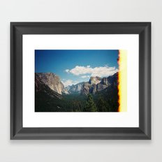 Yosemite Burning? Framed Art Print