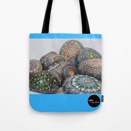 Mandala stones Tote Bag