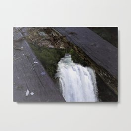 Washed AWAY Metal Print