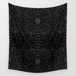 Black art Wall Tapestry