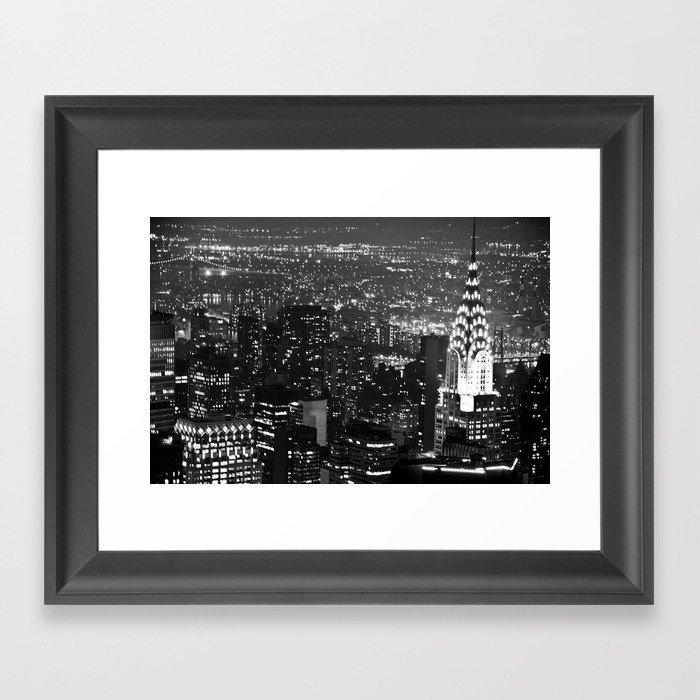 A Classic Dark Framed Art Print