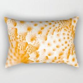 Orange Romanesco Rapture Rectangular Pillow