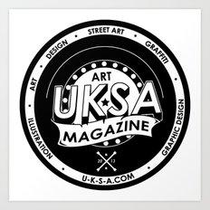 UKSA #1 Art Print