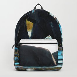 Elephants (Color) Backpack