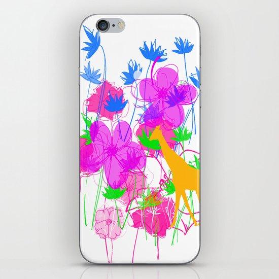 Yellow Giraffe iPhone & iPod Skin