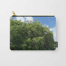 Blue Sky Green Tree Photography Carry-All Pouch