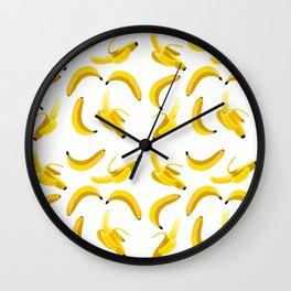 Bananas Wall Clock
