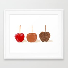 Apple-dapples Framed Art Print