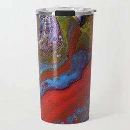 Fluid Acrylic X Travel Mug