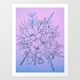 Duo-Tone Art Print