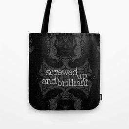 Brain. Vintage etching. Evil dreams. Tote Bag