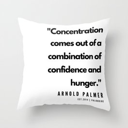 24    | Golf Quotes | 190606 Throw Pillow