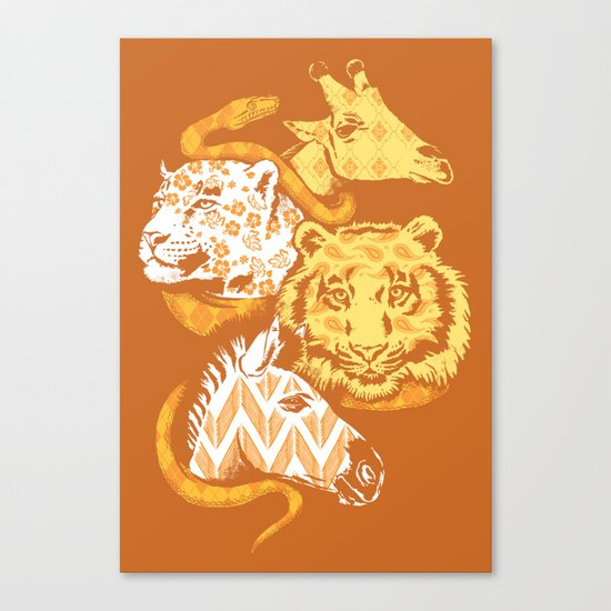 Animal Prints Canvas Print