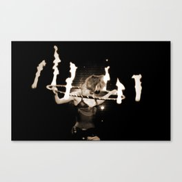 When Will They Burn? Canvas Print