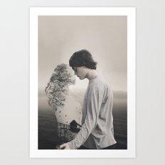 Faded Love Art Print