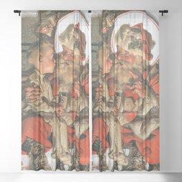 Christmas Eve - Digital Remastered Edition Sheer Curtain