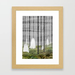 The Woods are full of Ghosts Framed Art Print