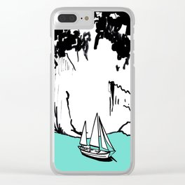 SARDEGNA Clear iPhone Case