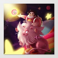 steven universe Canvas Prints featuring Steven Universe  by shermstan