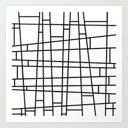 Mod Linear Art Print