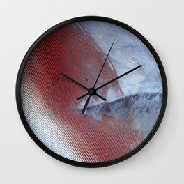 Empty Quarter Wall Clock
