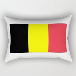 Flag of belgium-belgian,belge,belgique,bruxelles,Tintin,Simenon,Europe,Charleroi,Anvers,Maeterlinck Rectangular Pillow