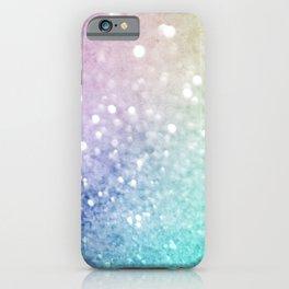 Pretty Colorful Glitter Bokeh Gradient Decorative iPhone Case