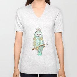 Glory Owl  Unisex V-Neck