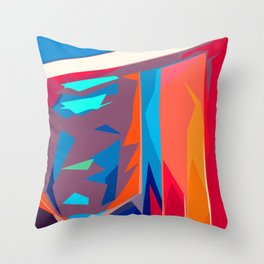 Happiness Reflections Throw Pillow