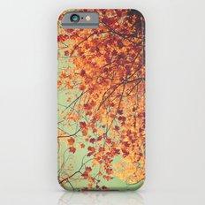 Autumn Inkblot - Yellow iPhone 6 Slim Case