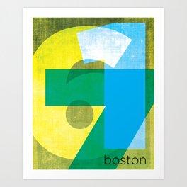 617 Art Print