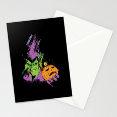 The Green Goblin Stationery Cards