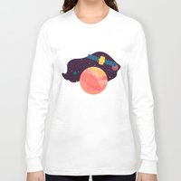 katamari Long Sleeve T-shirts featuring Satellite by badOdds
