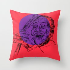 B.B. King Throw Pillow
